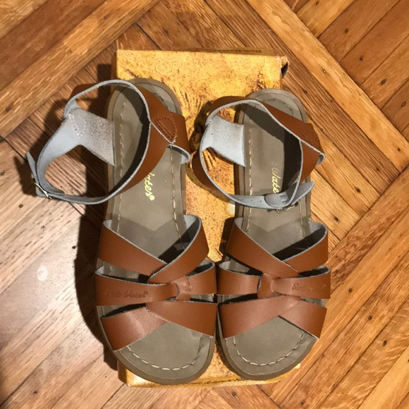 446ca2170 Salt Water Sandals by Hoy Shoes | Womens Tan Saltwater Sandals ...